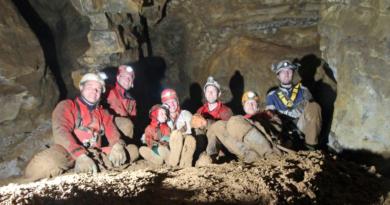 Die Ründerother Riesenhöhle wird vorgestellt